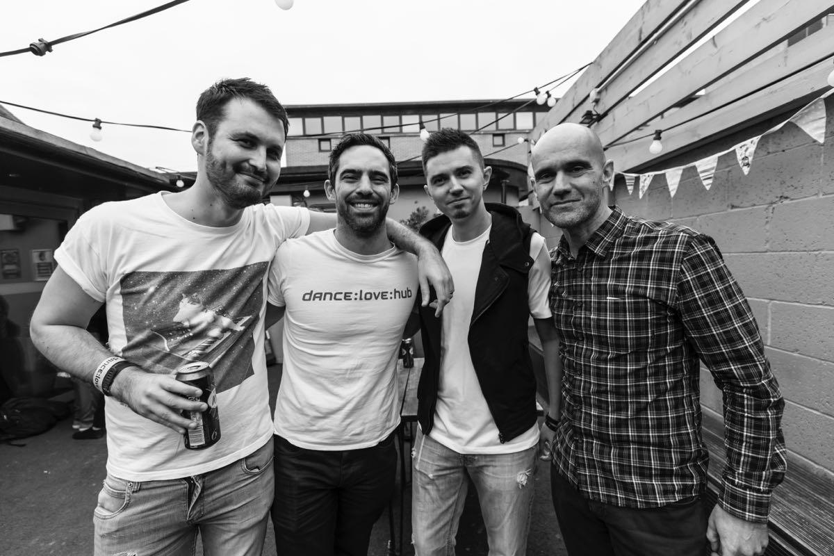 JOOF team: Adam Thomas, Jon Cockle, myself, and John 00 Fleming